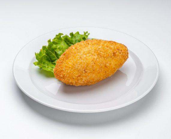 Котлета по киевски с сыром